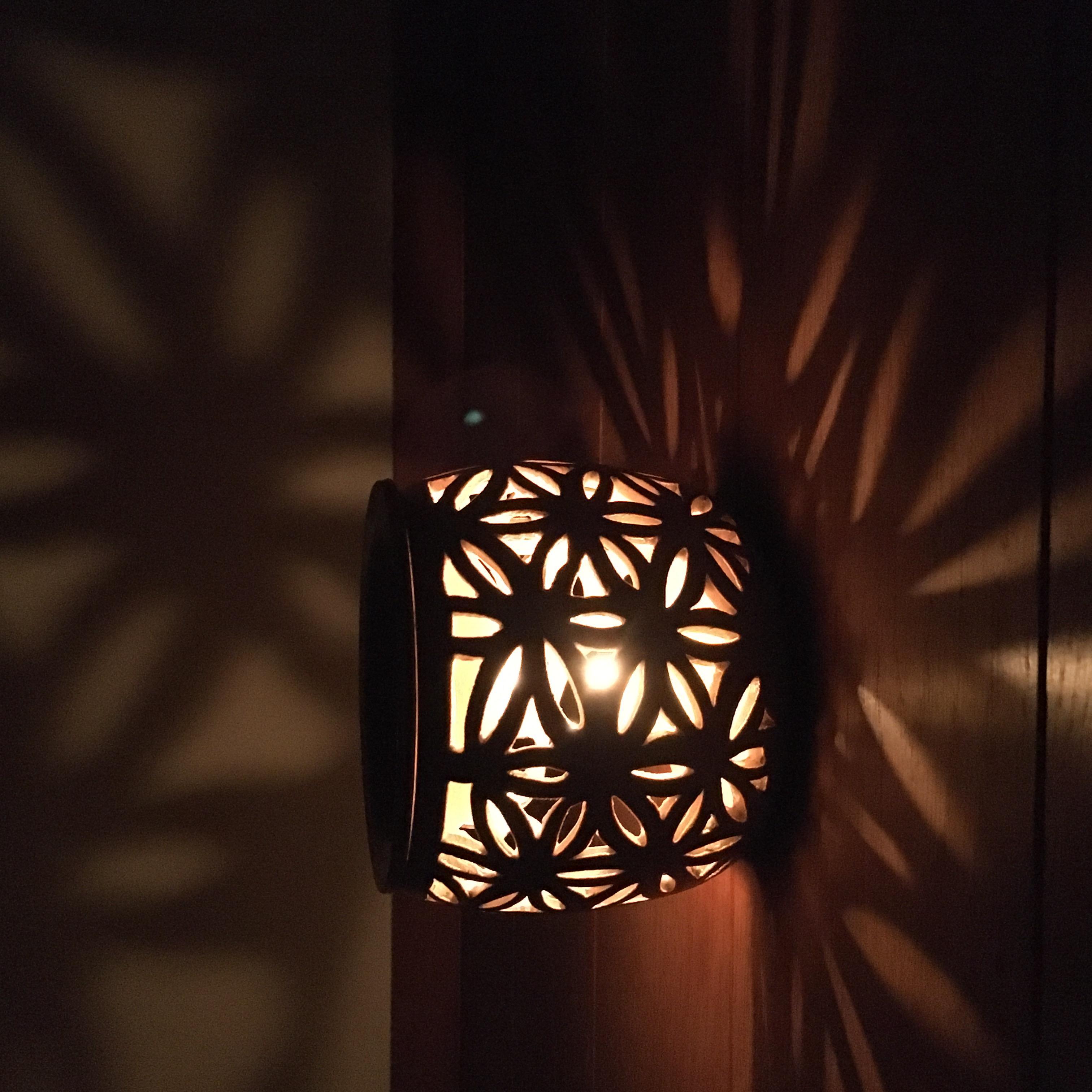 """Aromaöl-Lampe """"Blume des Lebens"""" - Aromaoil-Lamp """"Flower of Life"""""""