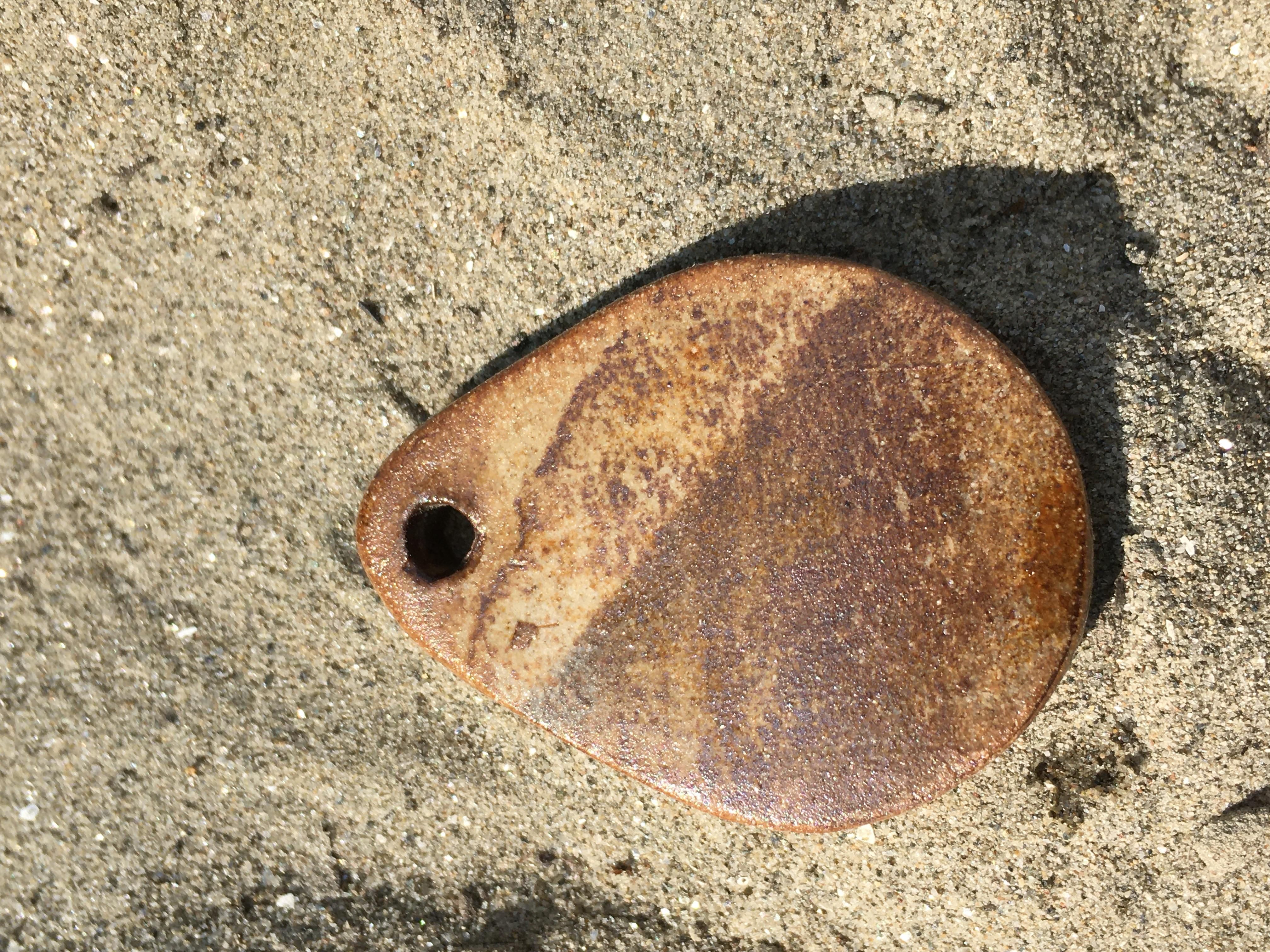 Amulett Samen des Lebens mit Agnihotra-Asche