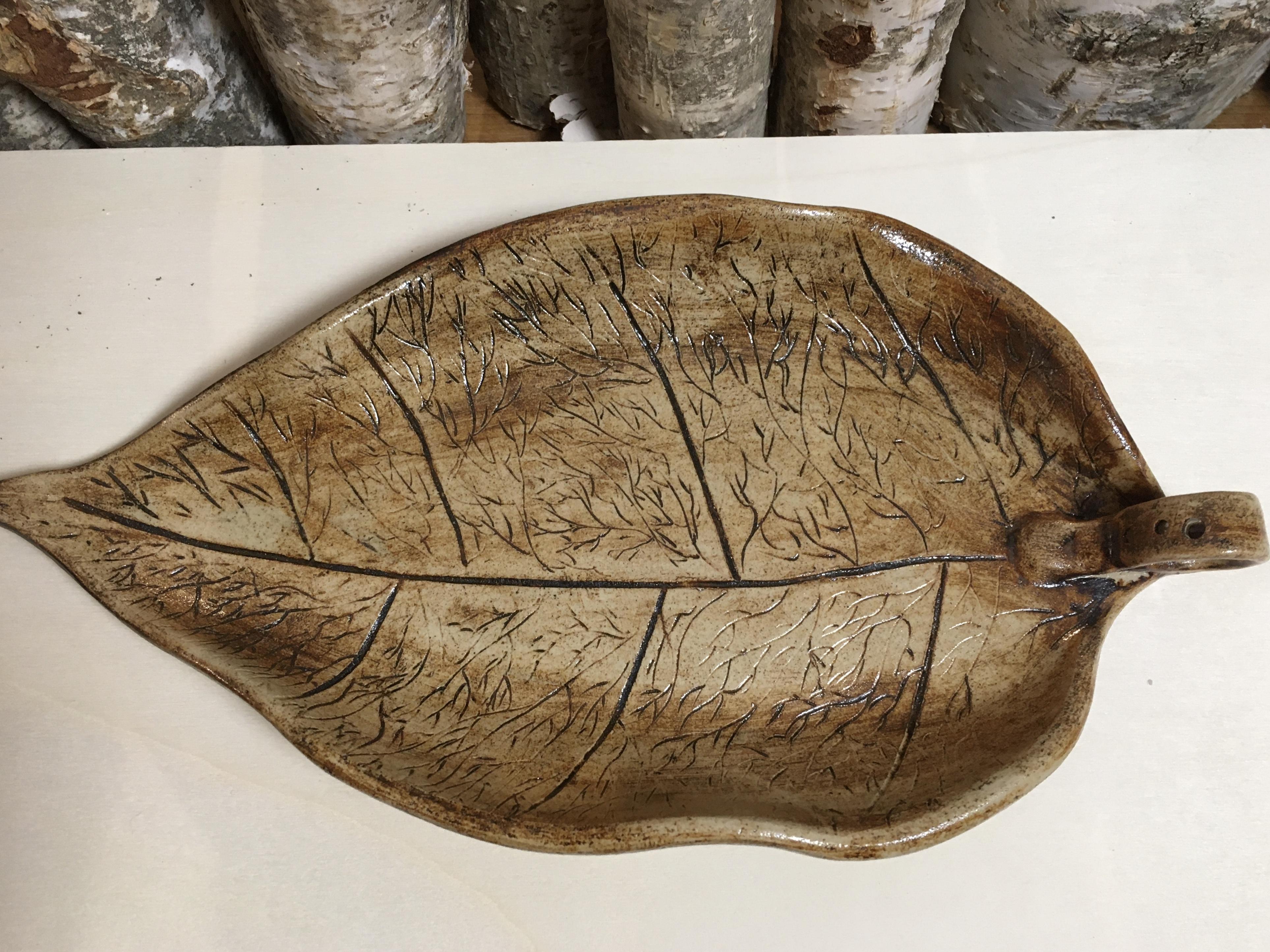 Räucherhalter Blatt - Incense Burner Leaf